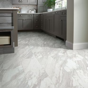 kitchen marble flooring